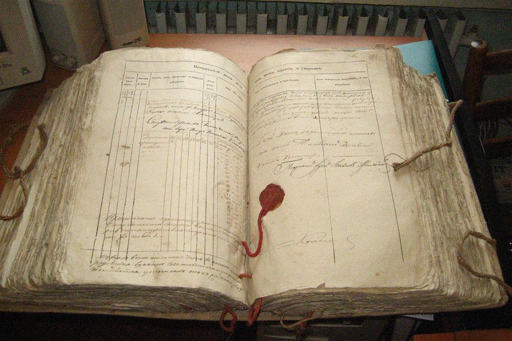 Метрическая книга