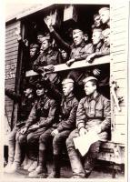 Воины-тамбовцы отправляются на фронт. 1941 г.