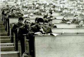 Селивёрстов В.И. – слушатель Высшей следственной школы МВД СССР в г. Волгограде. 1972 год
