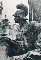 Старший лейтенант, артиллерист Василий В. Петручук, житель г. Тамбова, в Берлине. Май 1945 г.