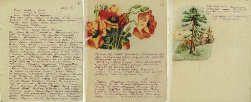 Из дневника Е.И. Камышникова. 22 июня 1941 г. - 19 мая 1942 г. Ф. Р-115. Оп. 1. Д. 10. Л. 1, 45