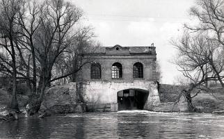 Гидроэлектростанция на р. Цна в Тамбове. Фото П.В. Петручука, 1974 г.