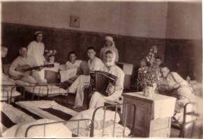 Во время отдыха в палате госпиталя № 5354