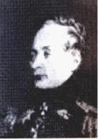 Мерлин Павел Иванович (1769-1841), генерал-майор. Участвовал в войнах со Швецией 1788-1790 гг. и 1808-1809 гг., в кампании 1806-1807 гг. В 1812 г. командовал конной артиллерийской ротой в армии Барклая де Толли. Произведён в генерал-майоры в декабре 1812 г. Портрет помещён в Военной галерее Зимнего дворца.