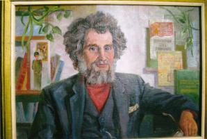 Портрет Александра Степановича Чернова. Художник С.Т. Куксов. 1998 г.