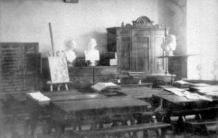 Учебный класс гимназии. Коллекция фотодокументов. Оп. 3. Ед. хр. 259
