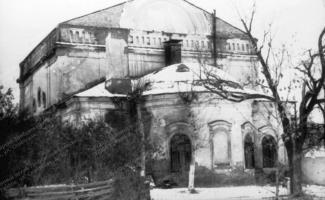 Зимняя церковь Казанского мужского монастыря, в которой до 1978 года находилось архивохранилище ГАТО. Коллекция фотодокументов. Оп. 1. Ед. хр. 693